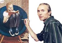 Описание картины «Портрет Милы» В. Хабаров