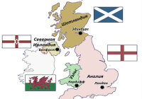 Какая страна не принадлежит Великобритании?