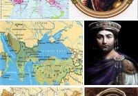 Какую территорию занимала империя Карла Великого, Византийская империя при Юстиниане, арабский халифат при Харуне ар-Рашиде?
