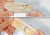 Мастер класс: делаем кораблик из палочек с моторчиком, который плавает сам