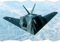 Складываем из бумаги самолет F-117A «Ночной Ястреб»