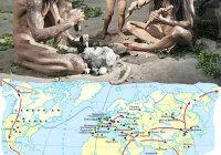 На территории каких современных стран жили древнейшие люди?