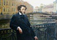 Что по мнению Пушкина важнее: интересы государства или интересы человека?