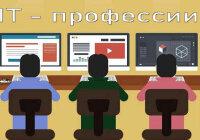 Профессии, связанные с компьютером и интернетом
