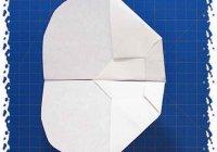 Бумажный самолет НЛО делаем из бумаги: поэтапные фото
