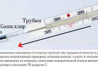 Встряхните медицинский термометр. Почему показание столбика ртути начинает падать?