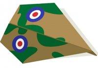 Делаем бумажный самолет ''Гомес'' по поэтапной схеме