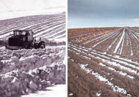 Как можно задержать снеготаяние на полях?