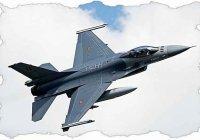 Как сделать из бумаги самолет истребитель F-16 Falcon