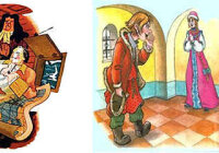 "Сравни солдата из сказки ""Находчивый солдат"" с мужиком из сказки ""Мужик и царь"""