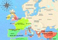 Как связана история славянских государств с известными вам другими средневековыми государствами?
