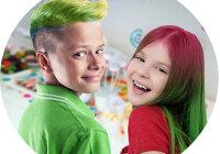 Со скольки лет можно красить волосы девочкам и мальчикам?