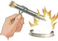 Объясните, как происходит нагревание воды в колбе, поставленной на огонь