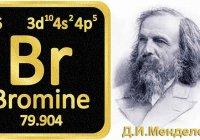 Порядковый номер элемента в таблице Менделеева равен 35