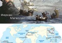 Фернан Магеллан, краткая биография и его открытия в географии