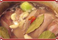 Язык свиной. Рецепты блюд из свиного языка.