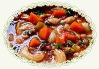 Суп Харчо с макаронами