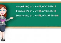 Определите число протонов электронов и нейтронов в атомах элементов: натрия, фосфора, золота