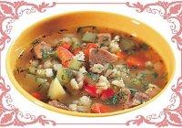 Рецепт супа «Рассольник» с солеными огурчиками и перловкой
