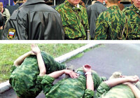 «Дедовщина» - запрещенные в армии фотографии неуставных отношений