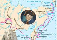 Впервые Камчатку с севера на юг пересек отряд под руководством кого?