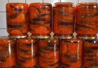 Баклажаны на зиму: лучшие рецепты с фото