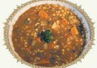 Суп Харчо с чечевицей