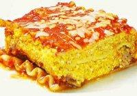 Лазанья, рецепт приготовления в домашних условиях