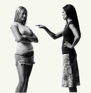 Отношения между женщиной и женщиной.