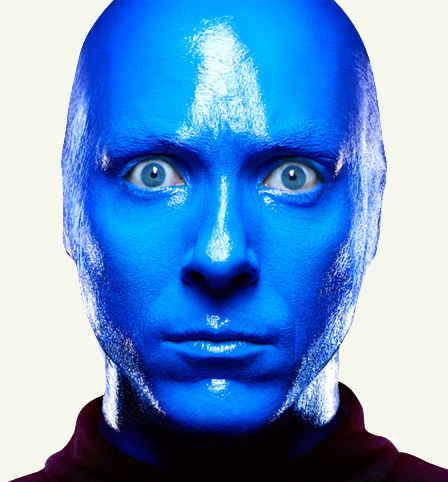 Синий цвет в психологии.
