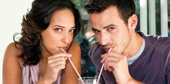 Общение между мужчиной и женщиной.