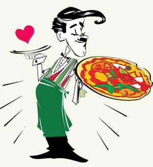 Приготовление пиццы в домашних условиях.