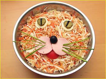 Салат морковный.