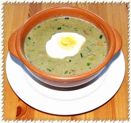 Щавелевый суп.