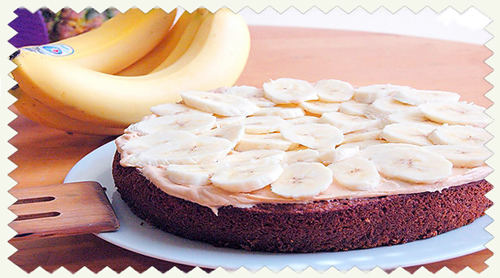 Пирог из бананов.