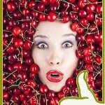 Маска для лица из вишни «вишневая»