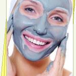 Маска для лица из голубой глины «Глиняные маски»