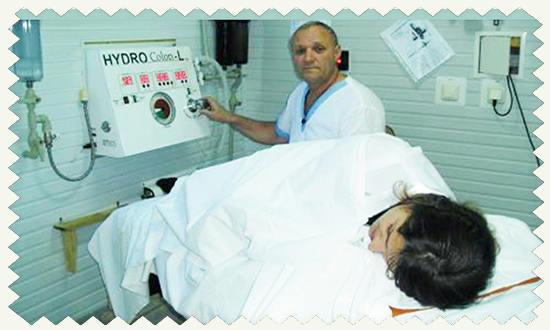 Мониторное очищение кишечника
