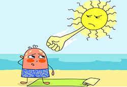 Удар солнца
