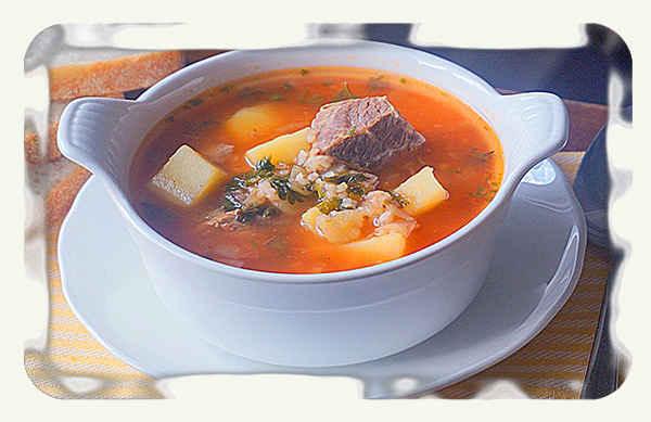 суп харчо из говядины простые рецепты
