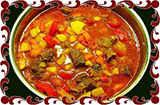 Кавказский суп Харчо