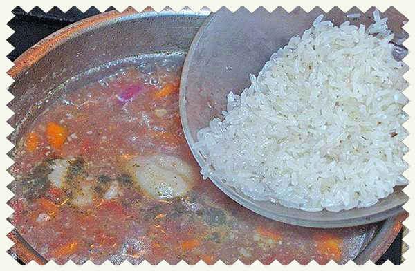 Суп Харчо рисовый