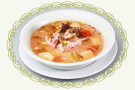 Суп Харчо с осетриной