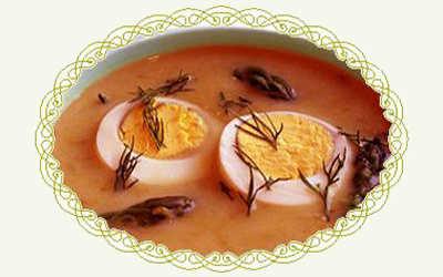 Харчо с яйцами