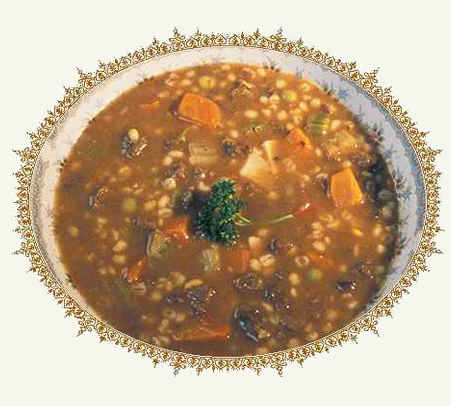 Суп Харчо из чечевицы