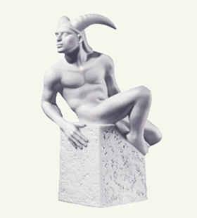 Памятник Козерогу