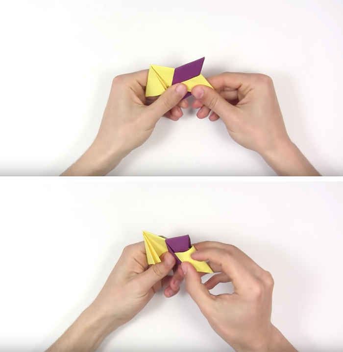 Как сделать спиннер без клея и без ножниц