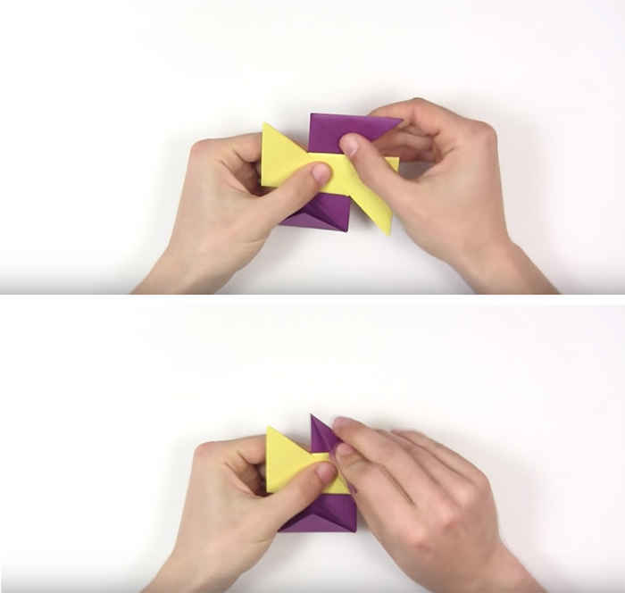 Как сделать из бумаги а4 спиннер 84