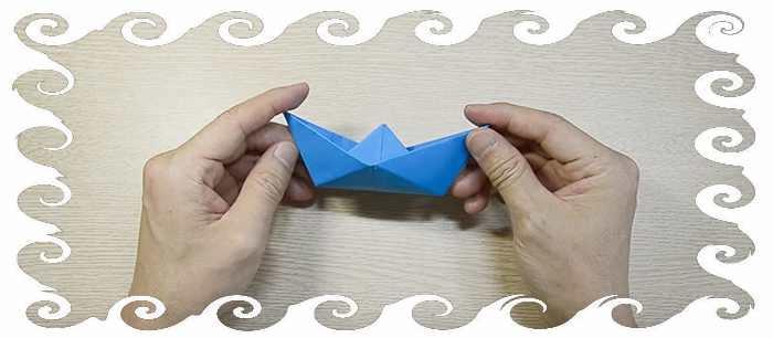 Какзделать зи бумаги кораблик