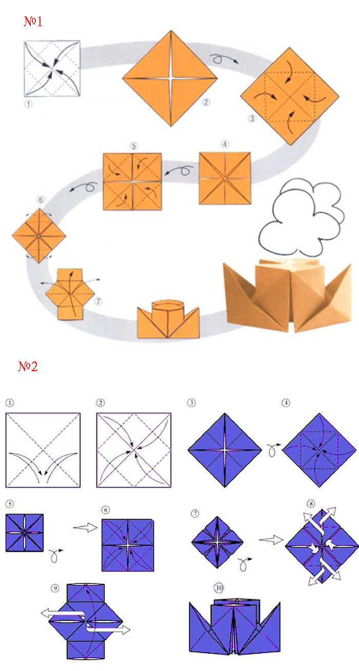 как сделать катер из бумаги пошаговая инструкция